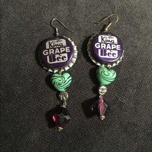 Jewelry - Bottle Cap Earrings